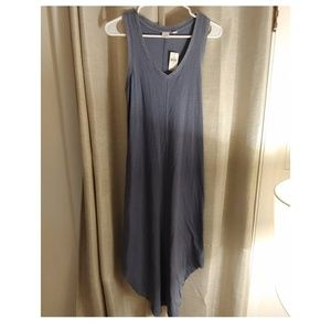 GAP long v neck Dress